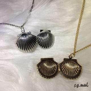 ✨Seashell Locket Necklace