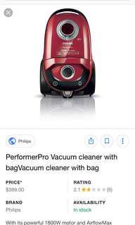 Philips Performance Pro Vacuum Cleaner