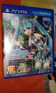 Ps Vita - Hatsune Miku F2nd, Ys VIII, Gundam Xtreme Vs Force