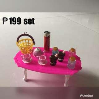 Set for barbie