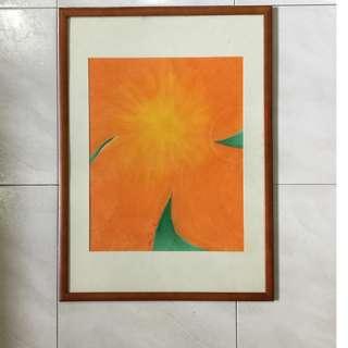 Pastel painting — Warmth