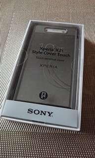 Xperia XZ1 Style Cover Touch SCTG50 (Black)