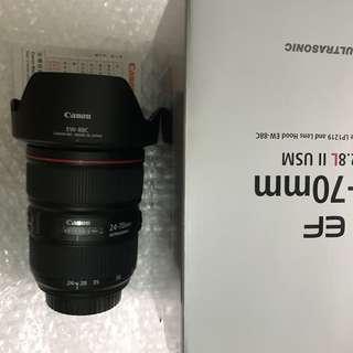 Canon 24-70mm F2.8 L II USM (公)
