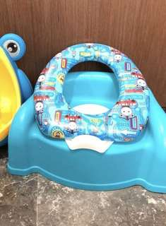 Used baby toilet training sets