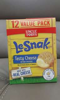 #July100 Le Snak tasty cheese 264g 12 pack