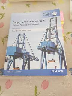 PEARSON SUPPLY CHAIN MANAGEMENT SIXTH EDITION