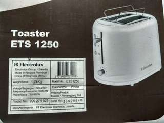 Toaster electrolux