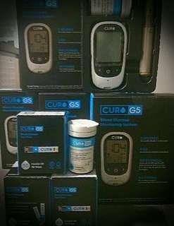 Curo G5 Glucose Meter & 1 Bottle (50 Test Strips) KA004-50.