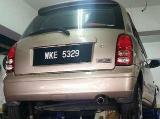 Kelisa Auto 2002 standard