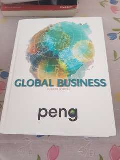 PENG Global Business fourth edition