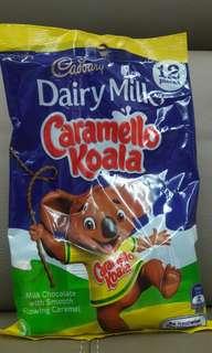 #July100 Cadbury dairy milk caramello koala