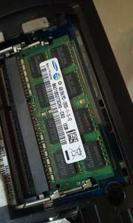 samsung ddr3 notebook ram 4G 記憶體
