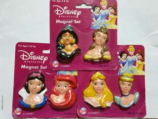 Disney Princess Frige Magnets