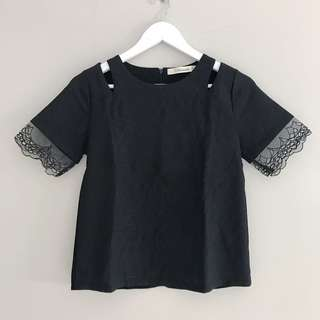 Free Ongkir New Mineola Black Top