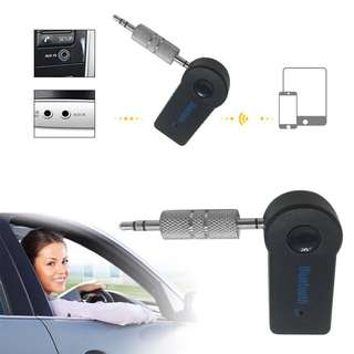 Bluetooth V3.0 Wireless Stereo Audio Music Receiver 3.5 mm Handfree Car AUX