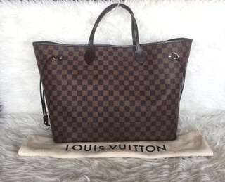 Louis Vuitton Neverfull GM Damier Ebene 2010 | in Very Good Condition | with Bag and Dustbag