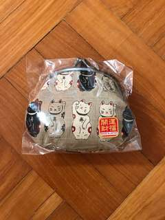 Fortune Cat coin pouch