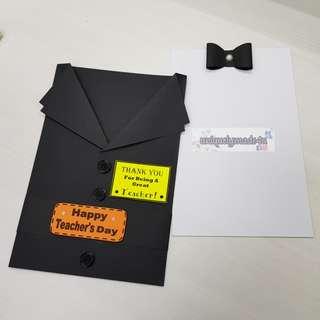 Handmade Teacher's Day Card #01