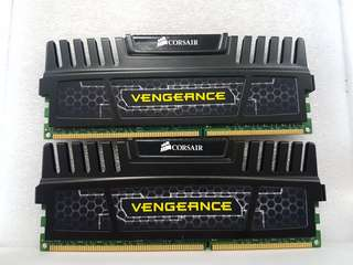Corsair Vengeance 2x4GB DDR3 kit