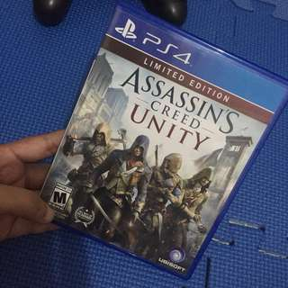PS4 Game: Assassin's Creed Unity