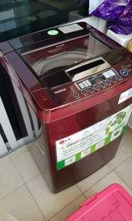Mesin cuci LG 8,5 kg wf s850cr