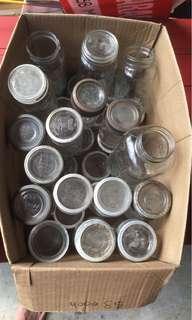 Crown/Corona Mason jars