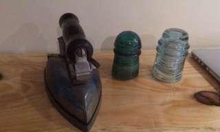 Iron and insulators