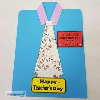 Handmade Teacher's Day Card #05