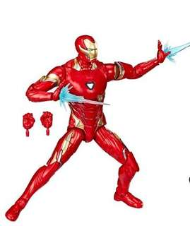 "VERY RARE & HOT! *Pre-Order* Hasbro Marvel Legends Marvel Studios: The First Ten Years Avengers Infinity War Iron Man Mark L 50 Only with Exclusive Cool Chest Light Up Effect (Loose) 6"" Action Figures!"