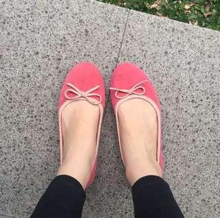 Pumpkin & The Glass Pink Flat Shoes