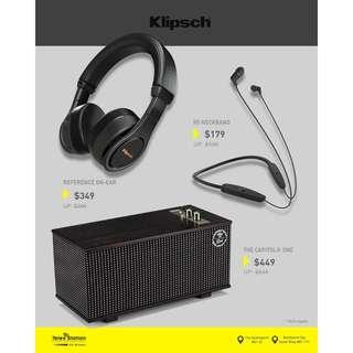 Klipsch GSS Promotion 2018