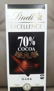 #July100 Lindt 70% cocoa dark 100g