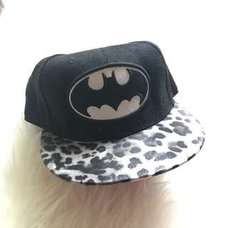 Batman Snapback cap hat cheetah black