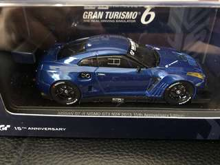 1/43 Ebbro Nissan GTR Nismo GT3 Gran Turismo Edition