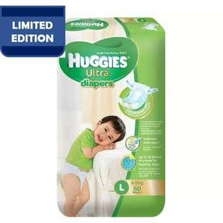 huggies ultra L50 (tape)