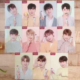 wanna one pleasia set