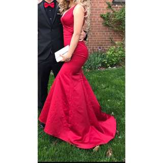 Red Fit and Flare Prom/Formal Dress!! *Price Drop*