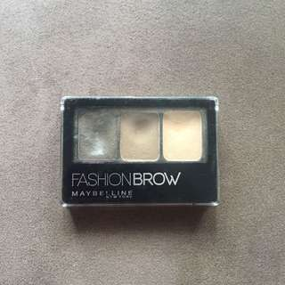 Maybelline Fashion Brow 3D Palette - Light Brown