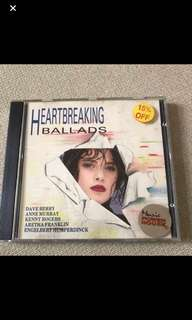 Cd Box 16 - HeartBreaking Ballads