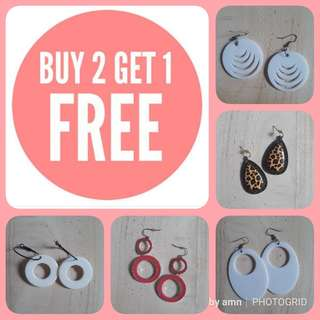 SALE // Buy 2 Get 1 FREE // Fancy Earrings