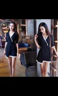 BNWT black knitted dress