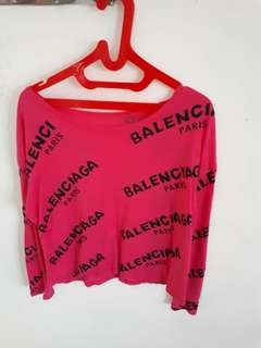 Balenciaga Loose Top