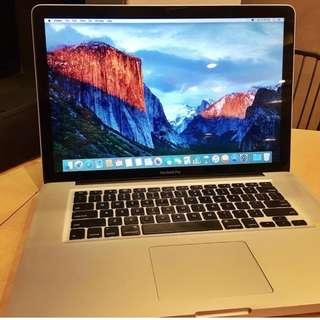 Macbook Pro 15 inch Mid 2009