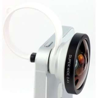 Super Wide Lens 0,4X Fish Eye Murah
