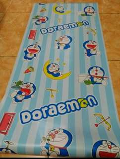 Wallpaper Sticker Doraemon Garis 10 meter