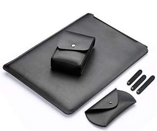 Faux Leather Sleeve Case for Macbook Air 13""