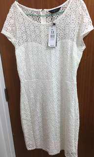 White dress size 12
