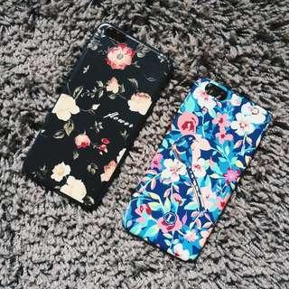iPhone 6S Plus Floral Case | Matte Flower Vintage Retro Art