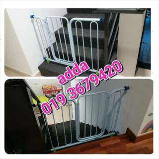 safety gate @ pagar baby (baru)