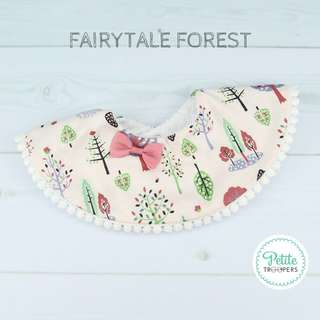 Fairytale Forest Collar Bib
